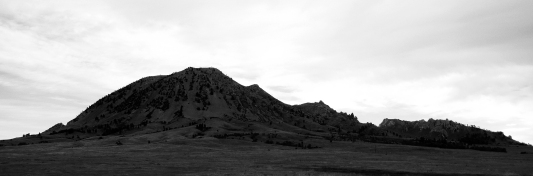 Dawn at Bear Butte