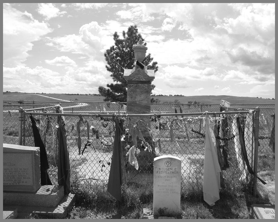 Wounded Knee Memorial Site in South Dakota.
